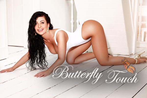 sexy busty brunette female london escort